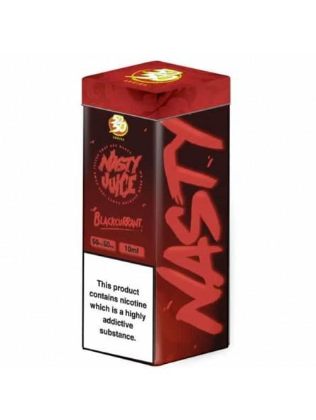 Nasty Juice Blackcurrant E-liquid 10ml - NewVaping