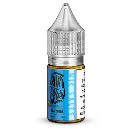 Ohm Brew Blue Slush Nic Salt 10ml