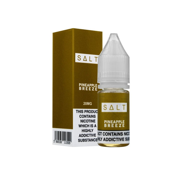 SALT Pineapple Breeze Nic Salt E-liquid 10ml - NewVaping