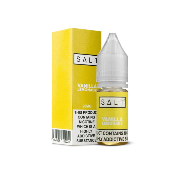 SALT Vanilla Lemonade Nic Salt E-liquid 10ml - NewVaping