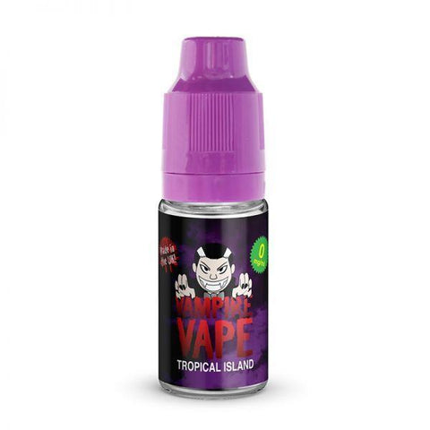 Vampire Vape Tropical Island E-liquid 10ml - NewVaping