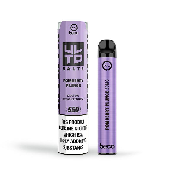 Beco Bar XL ULTD Pomberry Plunge Disposable Vape