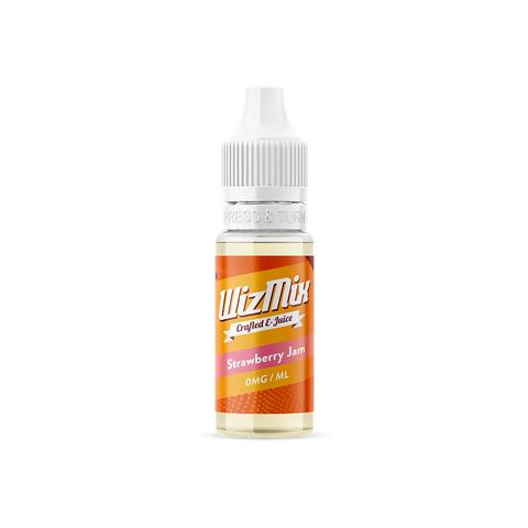 Wizmix Strawberry Jam E-liquid 10ml