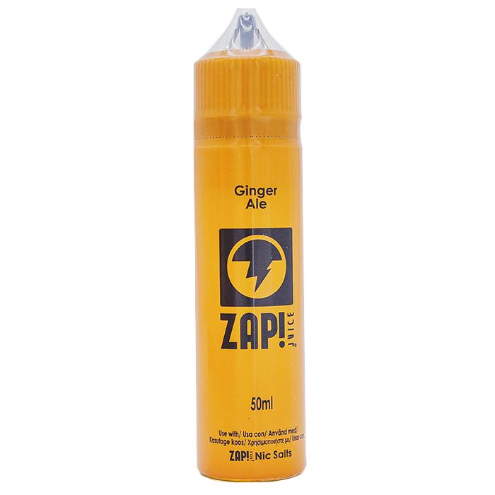 Zap! Juice Ginger Ale Shortfill E-liquid 50ml ( Free Nic Salt Included) - NewVaping