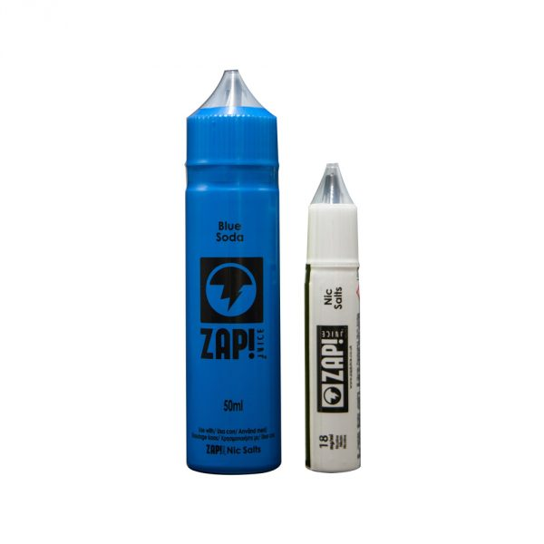 Zap! Juice Blue Soda Shortfill E-liquid 50ml ( Free Nic Salt Included) - NewVaping