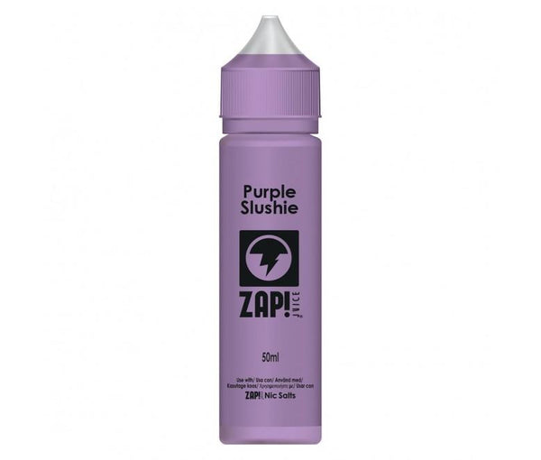 Zap! Juice Purple Slushie Shortfill E-liquid 50ml (Free Nic Salt Included) - NewVaping