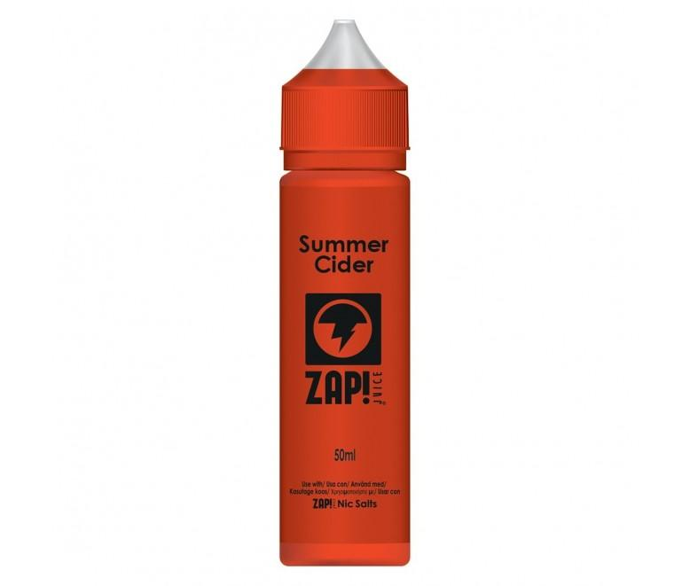 Zap! Juice Summer Cider Shortfill E-liquid 50ml (Free Nic Salt Included) - NewVaping