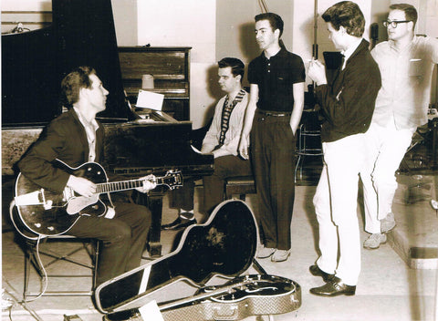 Billy Harlan, Pig Robbins, Don Everly RCA Studio B