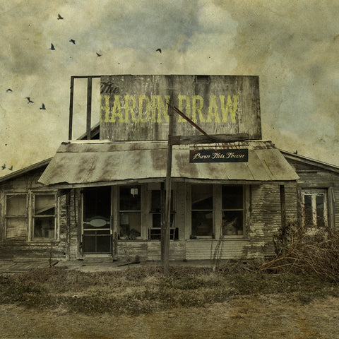 "The Hardin Draw - ""Burn This Town"" CD"
