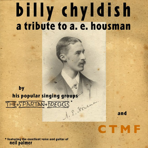 Billy Childish - A Tribute to A. E. Housman (Black) 10""