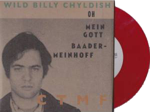 "Billy Childish - Joseph Beuys Flies Again 7"" Red Vinyl *Import*"