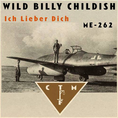 Billy Childish & CTMF - Ich Lieber Dich / ME-292 (brown vinyl) 7""