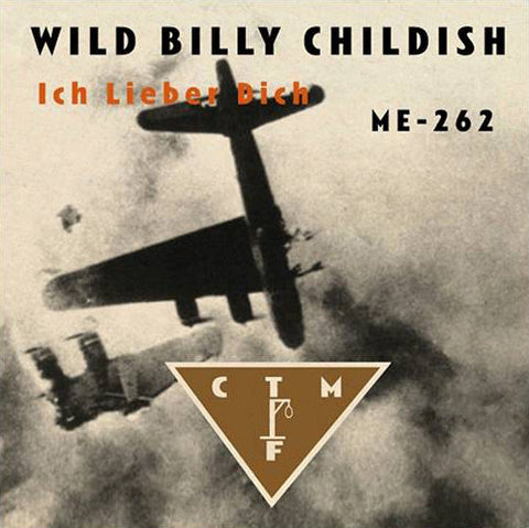 Billy Childish & CTMF - Ich Lieber Dich / ME-292 (red vinyl) 7""