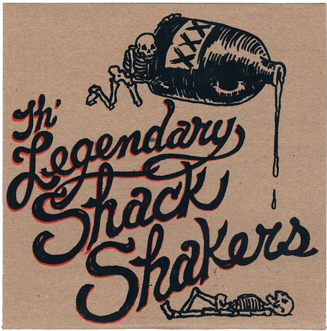 "Legendary Shack Shakers 7"" Record ""Arkam"""