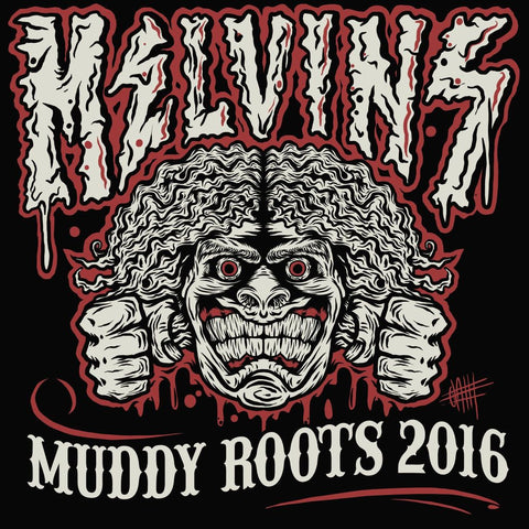 "Melvins ""Muddy Roots 2016"" Men's T-Shirt"