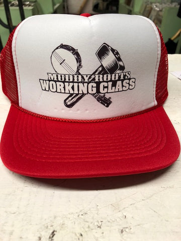 Working Class Red/White Trucker Hat