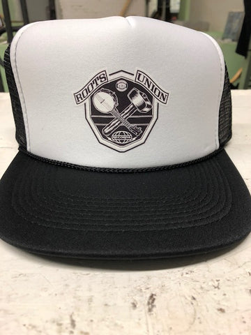 Roots Union Black/White Trucker Hat