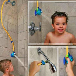 This Kids New Shower Head Brings It Lower and Makes The Water Come Out Softer