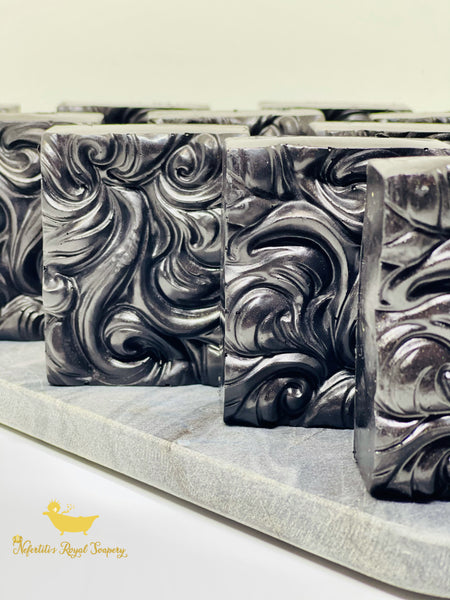 Black Excellence Charcoal Detoxing Handcrafted Organic Artisan Soap