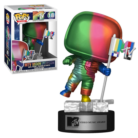 MTV Rainbow Moon Person Pop! Vinyl Figure (Pre-Venta Aficionados)
