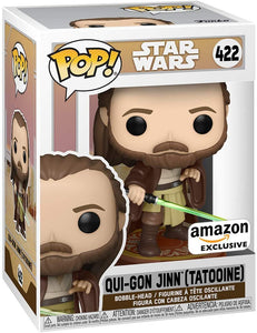 Star Wars: Across The Galaxy - Qui-Gon Jinn (Tattooine), Amazon Exclusive (Pre-Venta Aficionada)