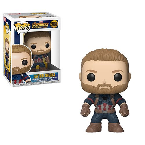 Avengers: Infinity War Captain America Pop! Vinyl Figure