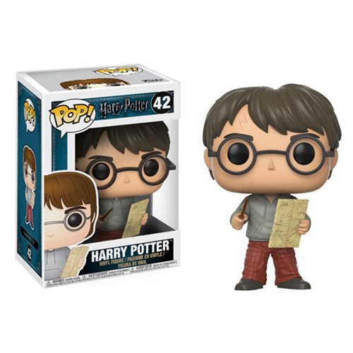 Harry Potter with Marauders Map Pop! Vinyl