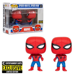 Spider Man Imposter Pop! Vinyl Figure 2-Pack – Entertainment Earth Exclusive