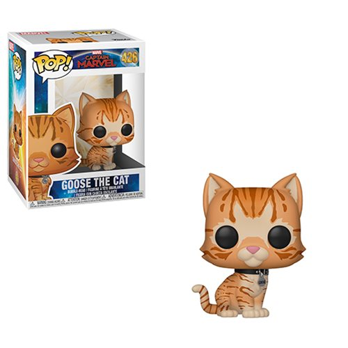 Captain Marvel Goose the Cat Pop! Vinyl