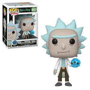 Rick and Morty Rick (with Crystal Skull) Pop!