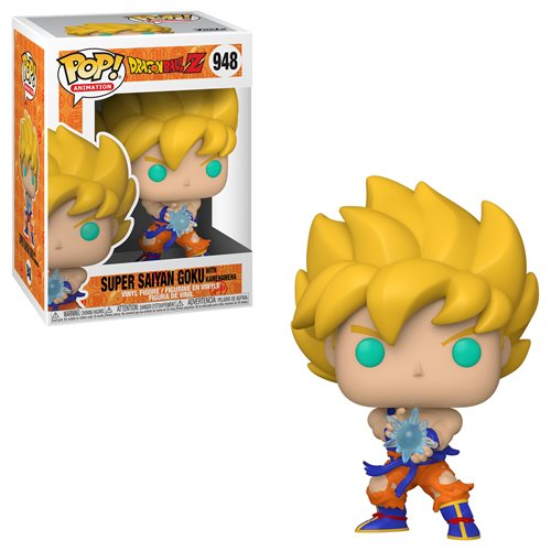 Dragon Ball Z SS Goku with Kamehameha Wave Pop! (Pre-Orden)