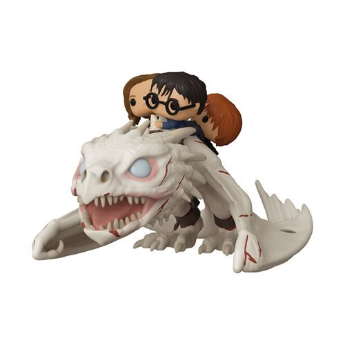 POP! RIDE: DRAGON W/HARRY, RON, & HERMIONE (Pre-Orden)