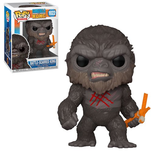 Godzilla vs. Kong Battle Scarred Kong Pop! (Pre-Venta Aficionados)