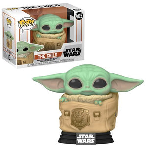 Star Wars: The Mandalorian Child (Baby Yoda) with Bag Pop!