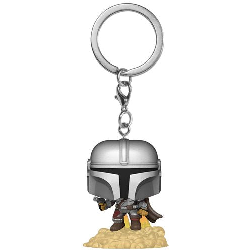 Star Wars: The Mandalorian with Blaster Pop! Key Chain (Pre-Orden)