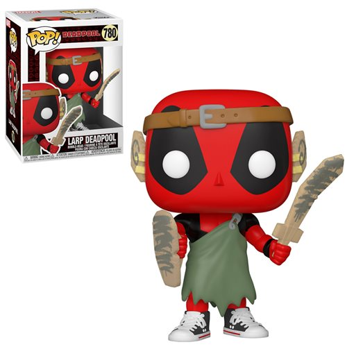 Deadpool 30th Anniversary Nerd Deadpool Pop! (Pre-Orden)