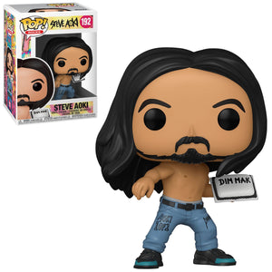 Steve Aoki with Cake Pop! Vinyl Figure