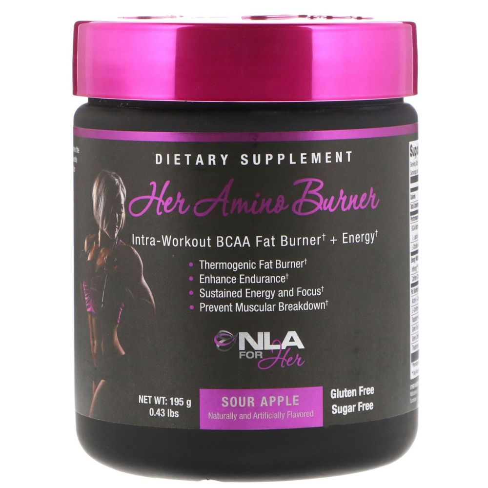 NLA For Her Her Amino Burner Sour Apple - Gluten Free