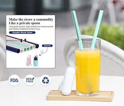 Image of Silicone Reusable Straw