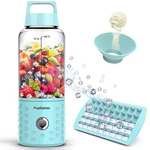 PopBabies Portable Blender with Rechargeable USB