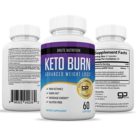 Keto Burn - Best Keto Diet/Weight Loss Supplements to Burn Fat Fast