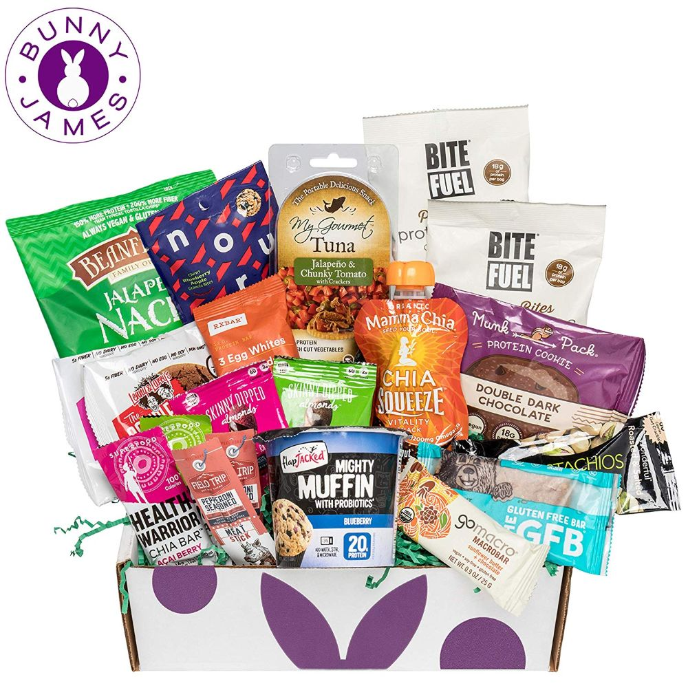 High Protein Snacks Fitness Box