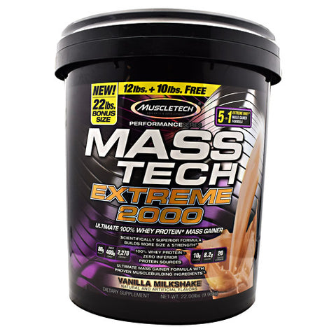 Muscletech MASS-TECH EXTREME 2000 Triple Chocolate Brownie