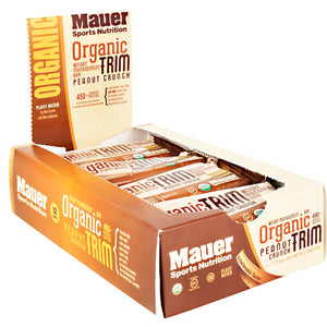 Mauer Sports Nutrition Organic Trim Bar Peanut Crunch - Gluten Free