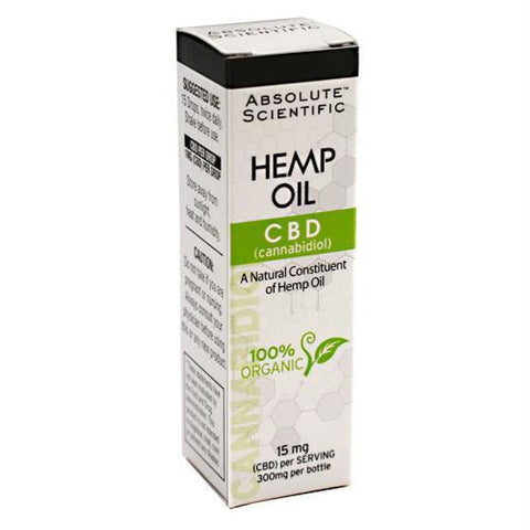 Absolute Nutrition CBD - Gluten Free - 300 mg - Supplements