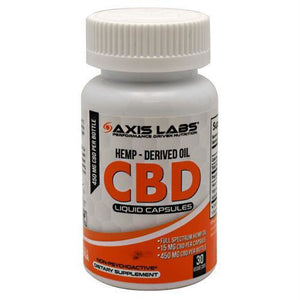 Axis Labs CBD - 30 ea - Supplements