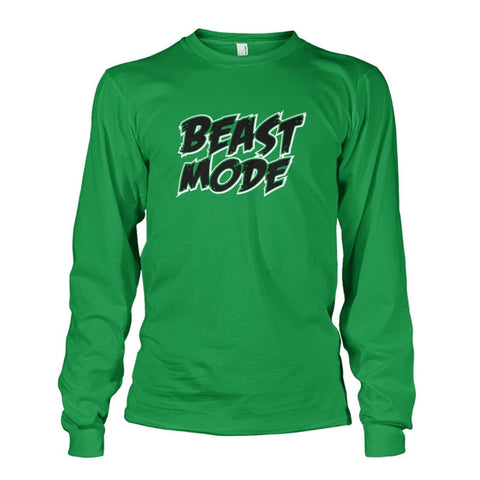 Beast Mode Long Sleeve - Irish Green / S - Long Sleeves