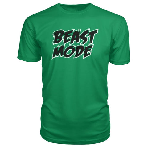 Image of Beast Mode Premium Tee - Green Apple / S - Short Sleeves