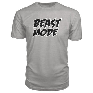 Beast Mode Premium Tee - Heather Grey / S - Short Sleeves
