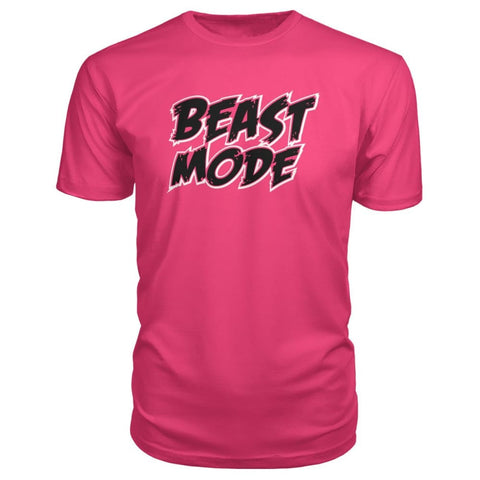 Image of Beast Mode Premium Tee - Hot Pink / S - Short Sleeves